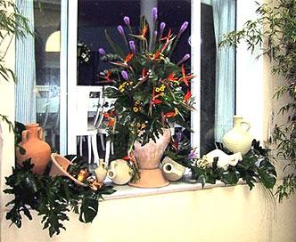 Diseños florales para interiores y exteriores en Cádiz