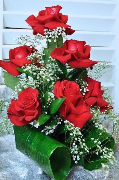 Ramo de Rosas media docena