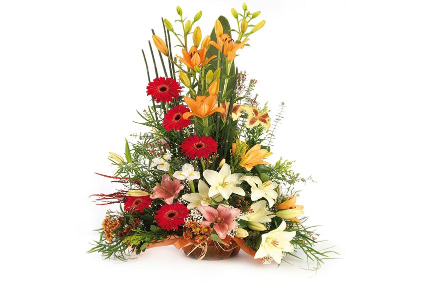 Centro de flores naturales centro de flores frescas c i r o flor - Centro de flores naturales ...